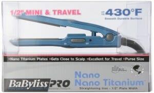 BaByliss Pro BABNT3050 Nano Titanium Straightening Iron