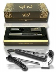 GHD Classic Gold Professional Ceramic Styler Hair Straightener Flat Iron 1 Inch 2