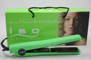 Iso Professional Hair Straightener Super Spectrum Pro GREEN 4