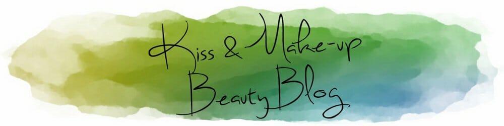 kiss and make up beauty blog logo