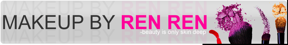makeup by ren ren blog logo