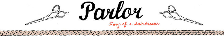 parlor diary of a hairdresser logo